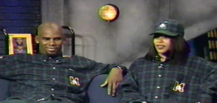 R. Kelly, Aaliyah