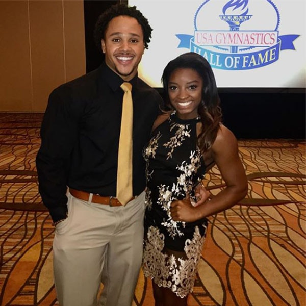 Simone Biles dating fellow gymnast Stacey Ervin