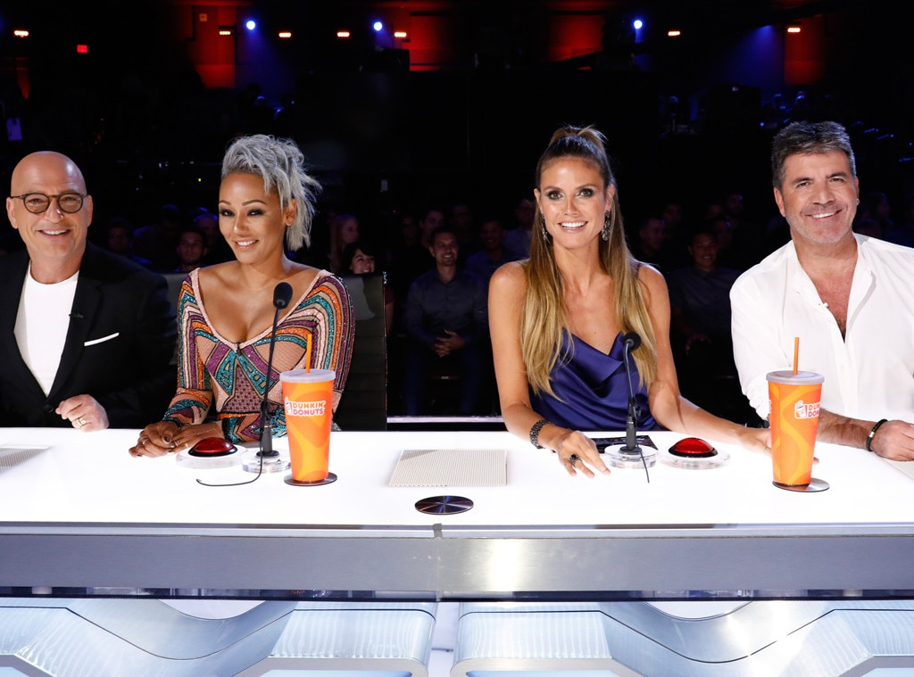 Mel B Walks Off AGT Stage After Simon Cowell Makes Insensitive Joke About Her Wedding Night