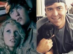 Taylor Swift Music Video Boyfriends, Clayton Collins, Tim McGraw