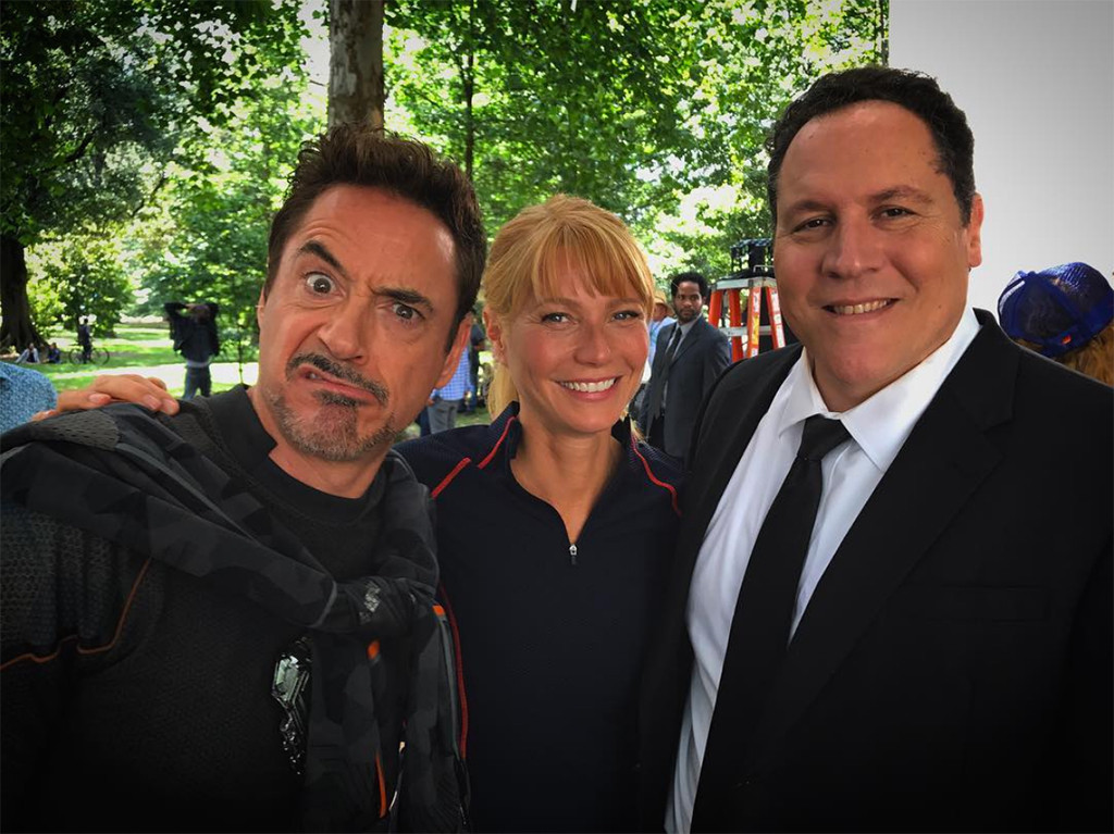 Robert Downey Jr., Gwyneth Paltrow, Jon Favreau, Avengers 4