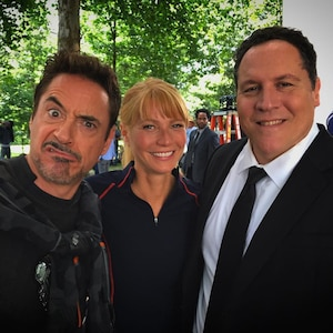Robert Downey Jr., Gwyneth Paltrow, Jon Favreau, Avengers 4