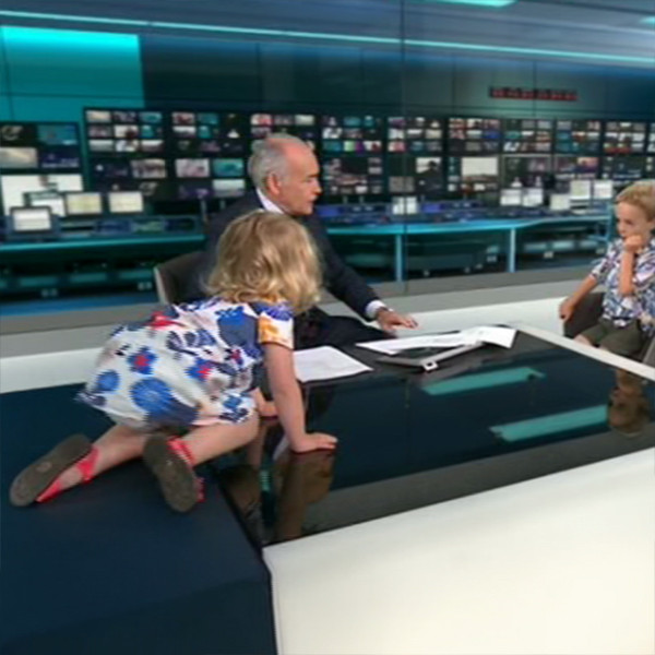 Newscast, Toddler, ITV