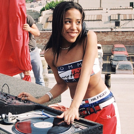 Aaliyah's '90s Fashion Is Back on Trend—Shop Her Looks ...