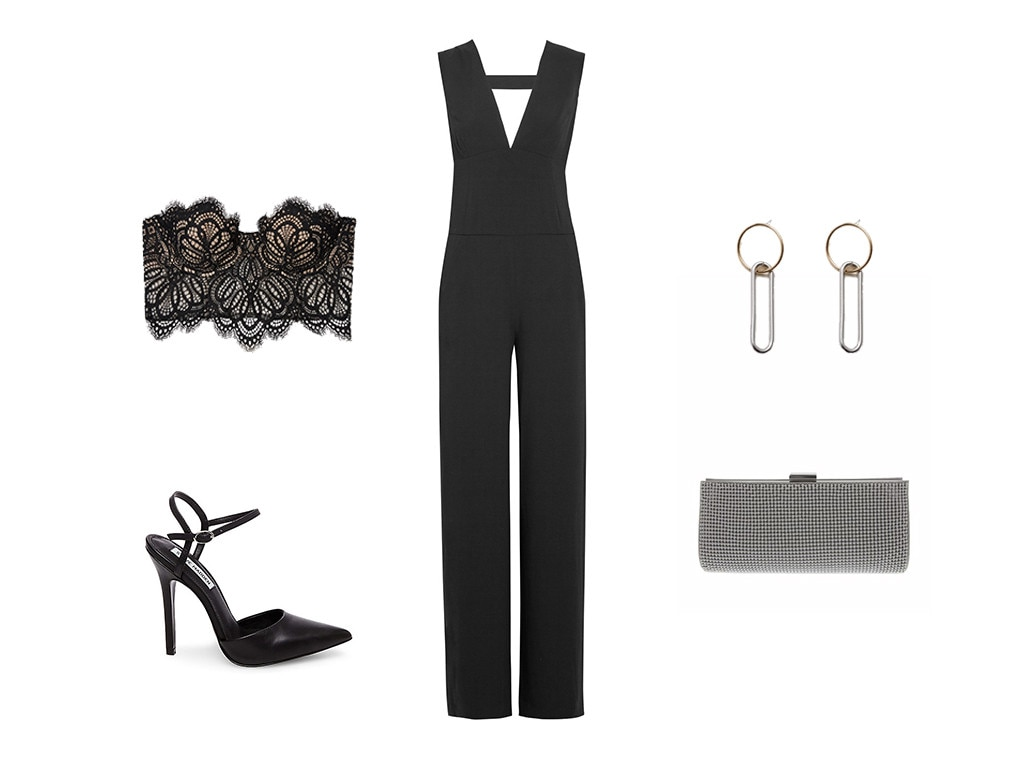 ESC: Black Jumpsuit Collage
