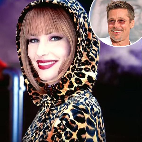 Shania Twain, Brad Pitt
