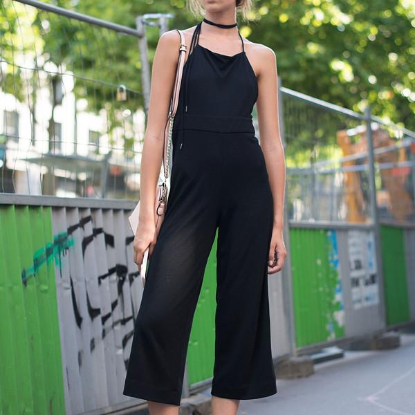 ESC: Black Jumpsuit