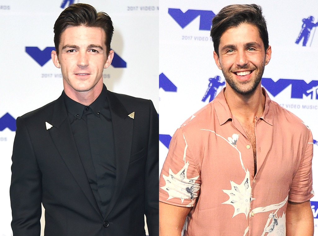 Drake Bell and Josh Peck reunite at MTV VMAs, share a hug