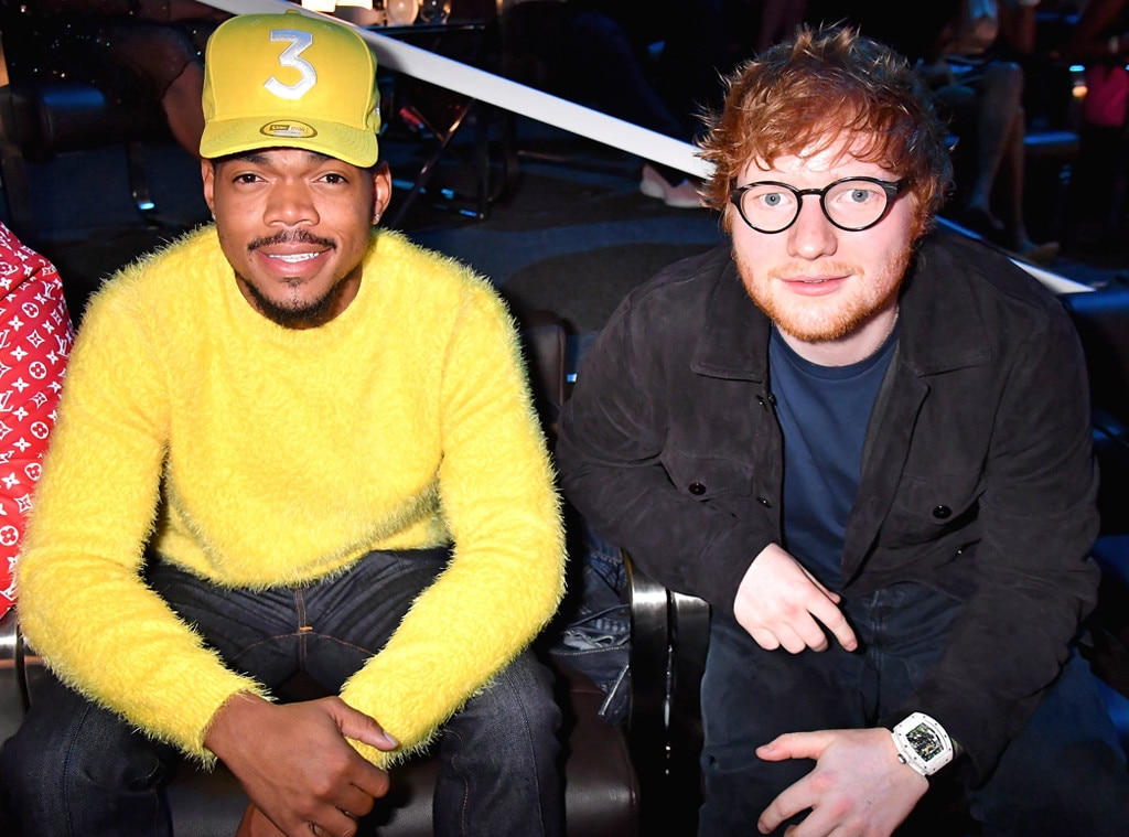 Ed Sheeran, Chance The Rapper, MTV Video Music Awards 2017