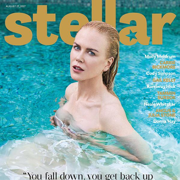 Nicole Kidman, Stellar Magazine