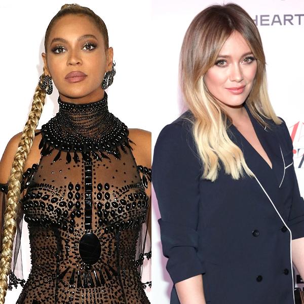Beyonce, Hilary Duff