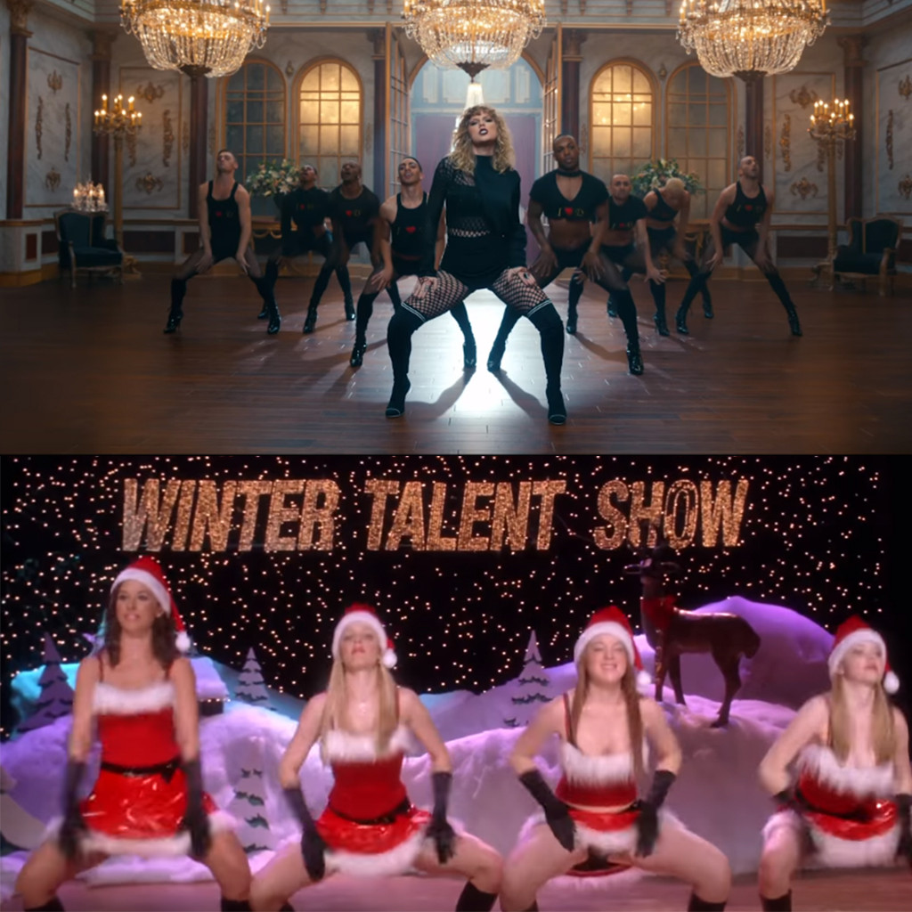 Taylor Swift, Look What You Made Me Do, Mean Girls
