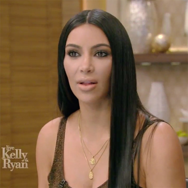 Kim Kardashian, Live With Kelly and Ryan