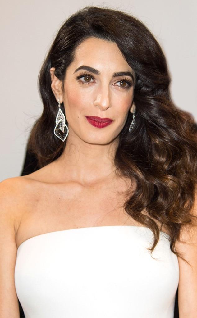 ESC: Amal Clooney, Long Hair Gallery