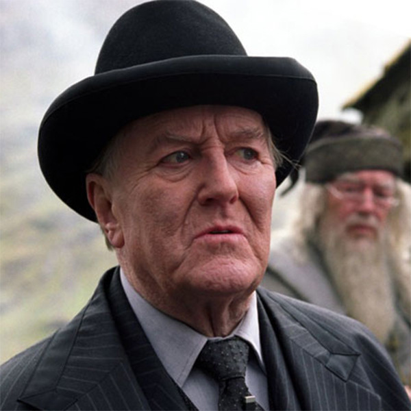 Robert Hardy, Cornelius Fudge, Harry Potter