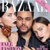 Harper's Bazaar, The Weeknd, Adriana Lima, Irina Shayk