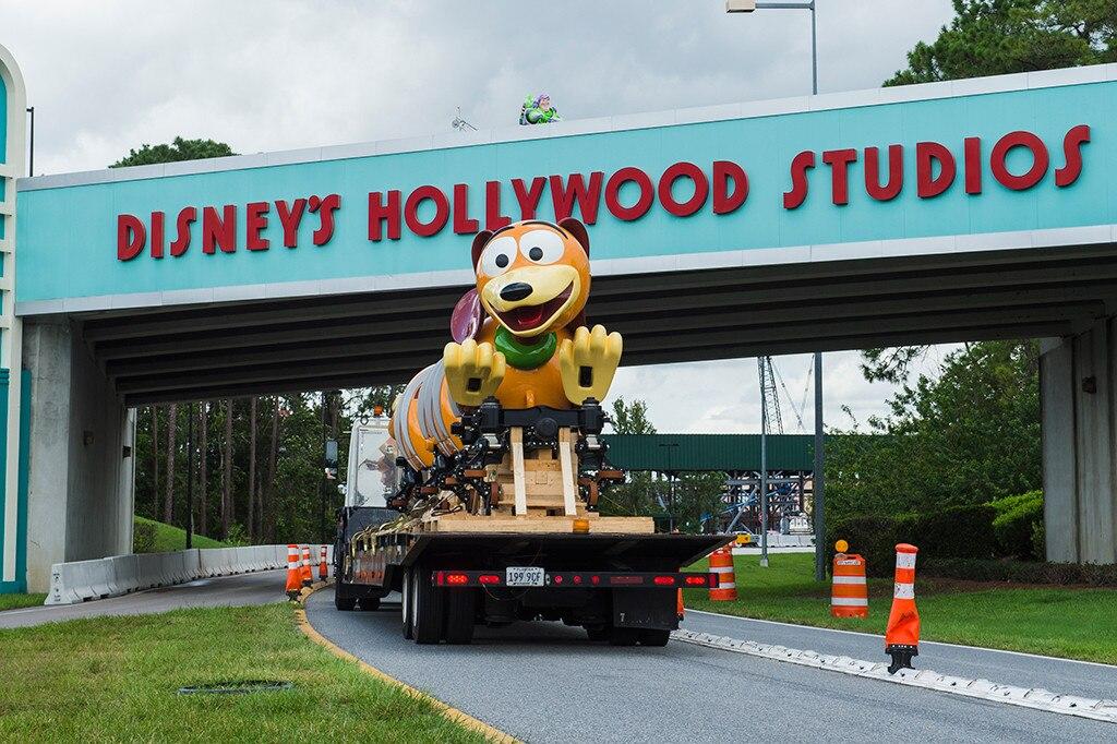 Disney gives fans a sneak peek of new Slinky Dog Dash ride