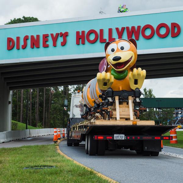 Toy Story Land's Slinky Dog Dash Arrives at Disney's Hollywood Studios