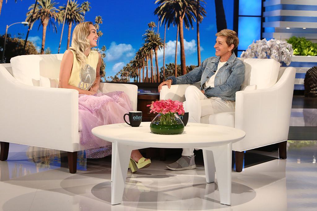 Miley Cyrus, Ellen DeGeneres, Hurricane Harvey