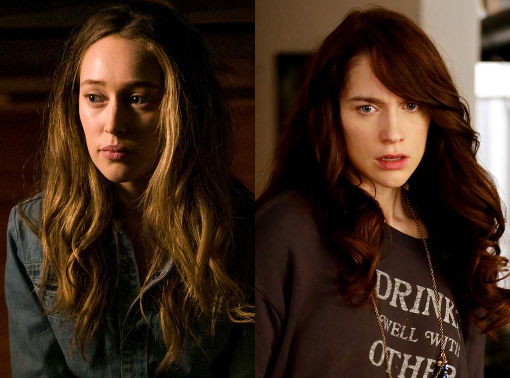 Melanie Scrofano, Wynonna Earp, Alycia Debnam-Carey, Fear the Walking Dead, Girl on Top