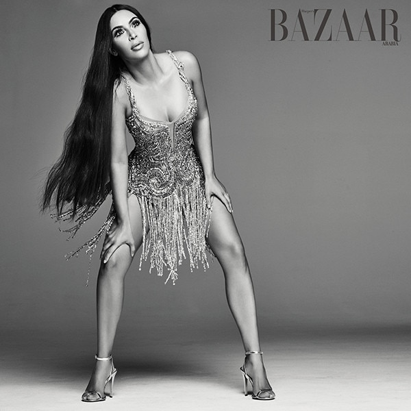 Kim Kardashian, Harper's Bazaar Arabia