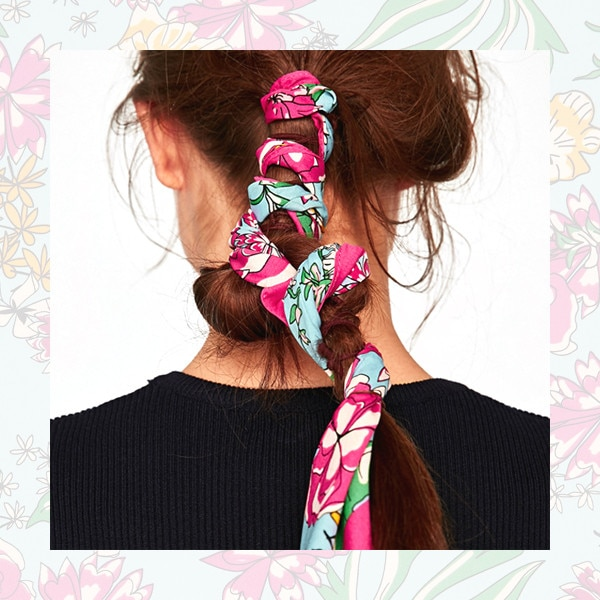 9 Scarves to Upgrade Your Ponytail