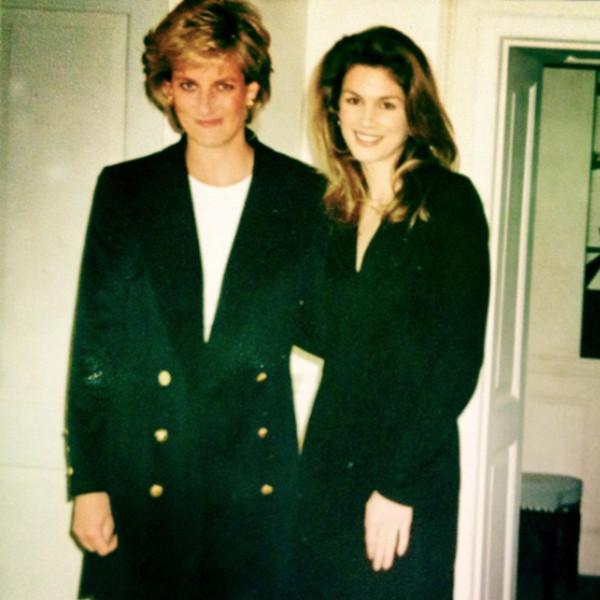 Cindy Crawford, Princess Diana