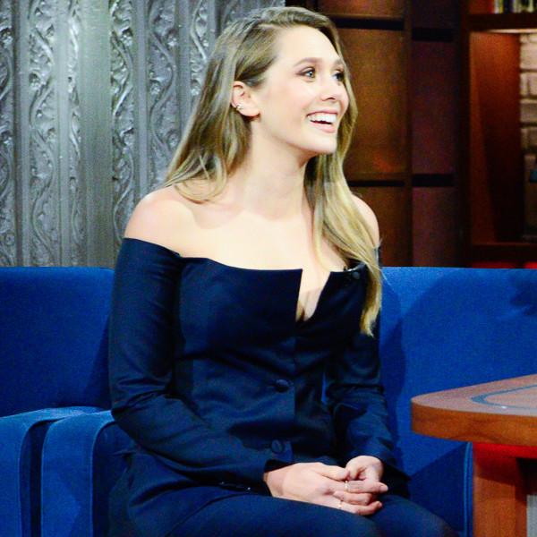 Elizabeth Olsen, The Late Show With Stephen Colbert