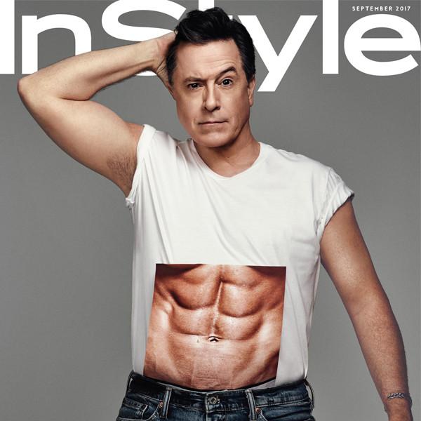 Stephen Colbert, InStyle Magazine