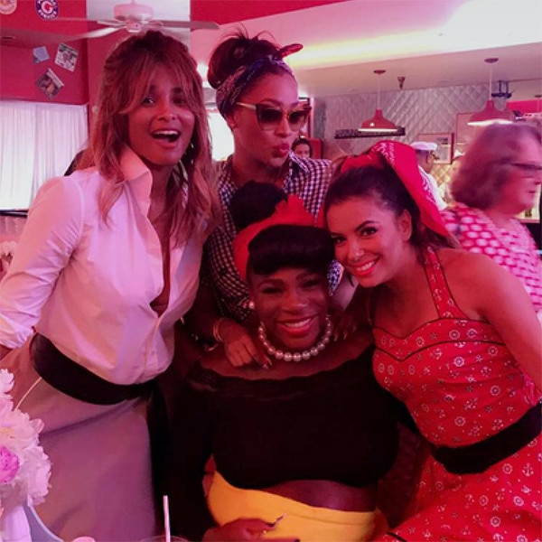 Serena Williams' Star-Studded Baby Shower