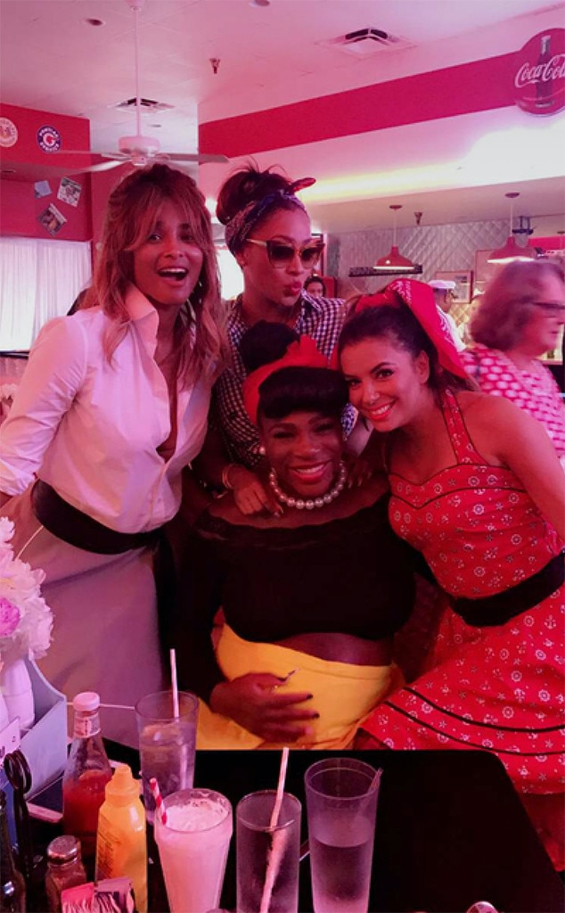 Serena Williams, Baby Shower