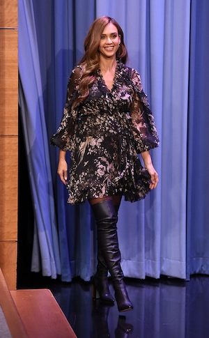 Jessica Alba, The Tonight Show