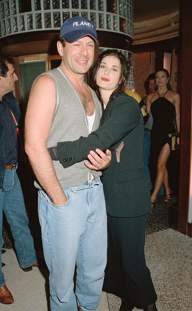 Bruce Willis dan Demi Moore