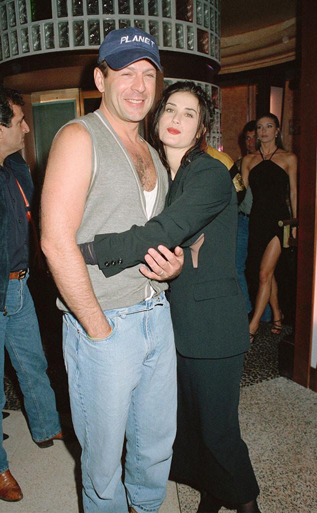 Bruce Willis, Demi Moore