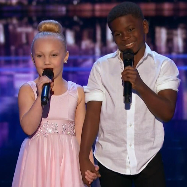 Artyon and Paige, America's Got Talent