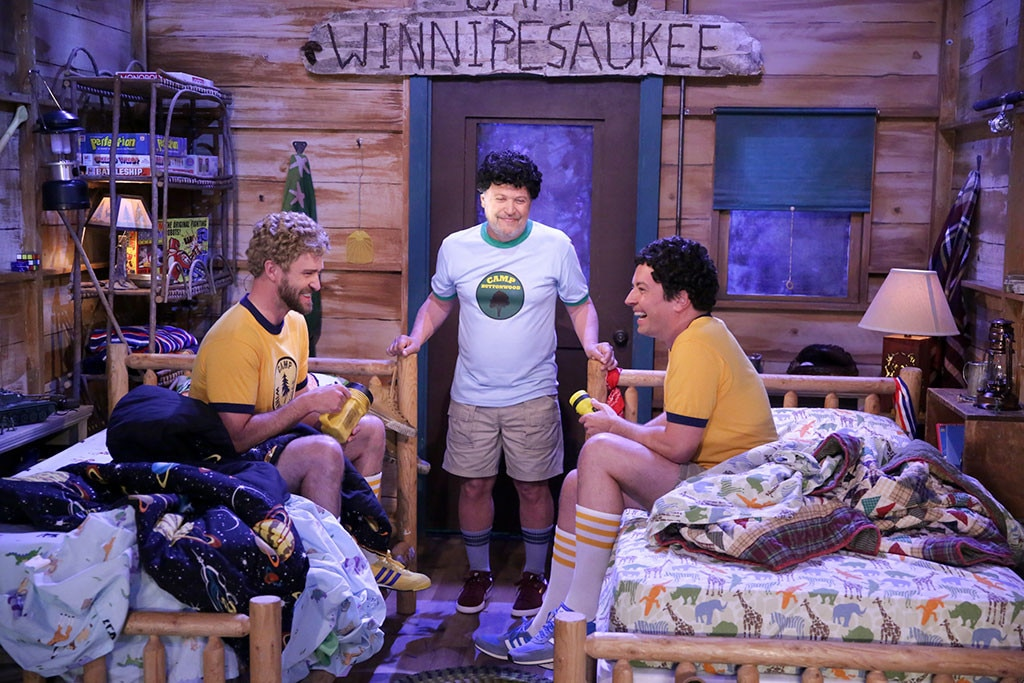 Watch Justin Timberlake, Jimmy Fallon reunite at summer camp