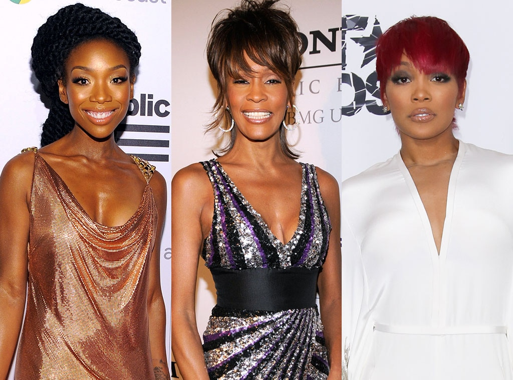 Brandy, Whitney Houston, Monica