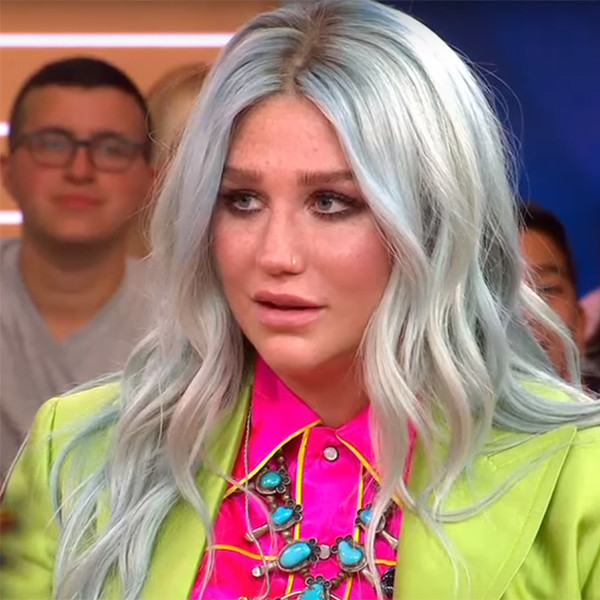 Kesha, GMA, Emotional