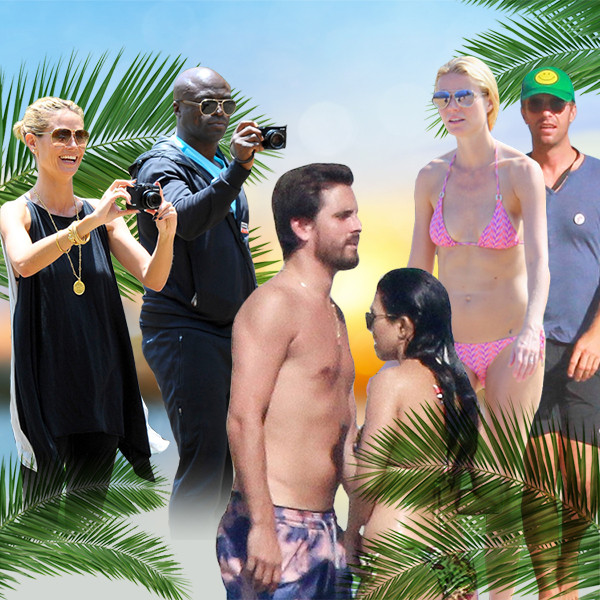 Celebrity Exes Vacationing