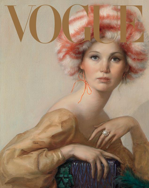 VOGUE, September Issue, Jennifer Lawrence