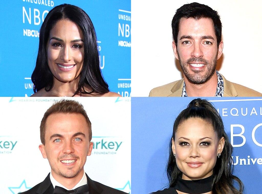 Vanessa Lachey, Frankie Muniz, Nikki Bella, Drew Scott