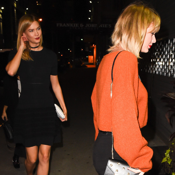 Karlie Kloss, Taylor Swift
