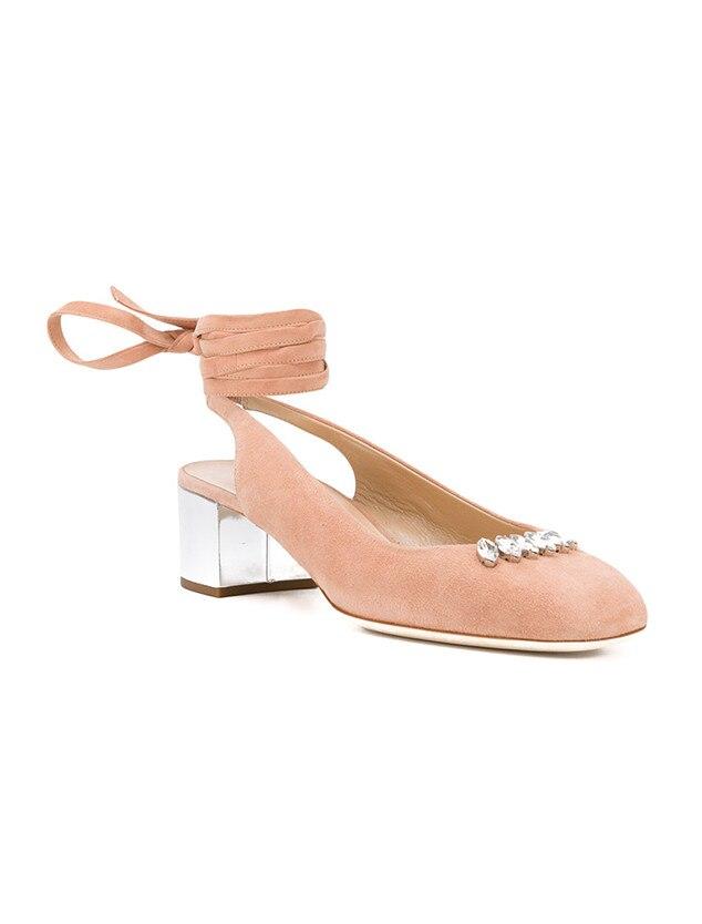 ESC: Ankle Wrap Heels