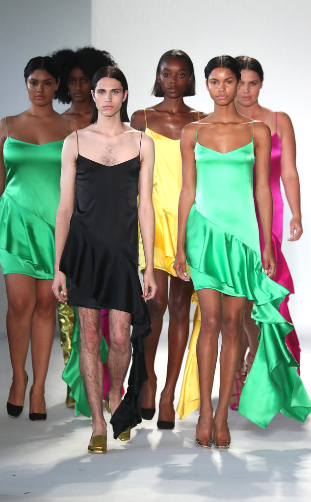 NYFW, Christian Siriano, Models