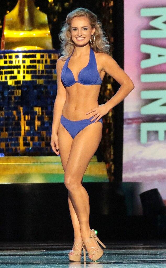 Miss America 2018, Swimsuit Challenge, Miss Maine Katie Elliott