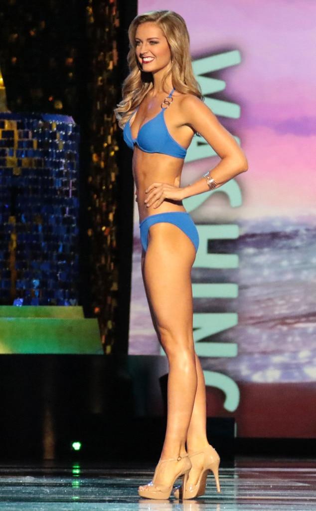 Miss America 2018, Swimsuit Challenge, Miss Washington Nicole Renard