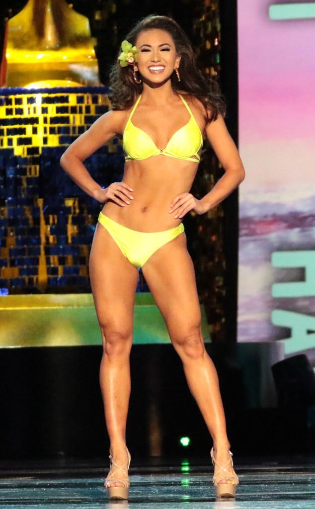 Miss America 2018, Swimsuit Challenge, Miss Hawaii Kathryn Teruya