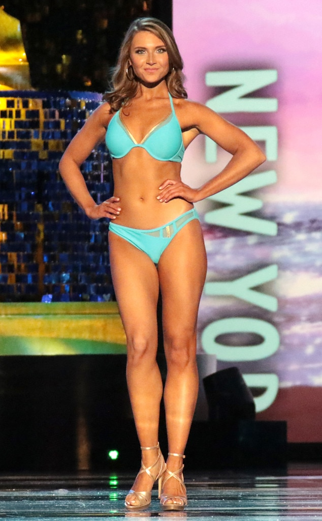 Miss America 2018, Swimsuit Challenge, Miss New York Gabrielle Walter