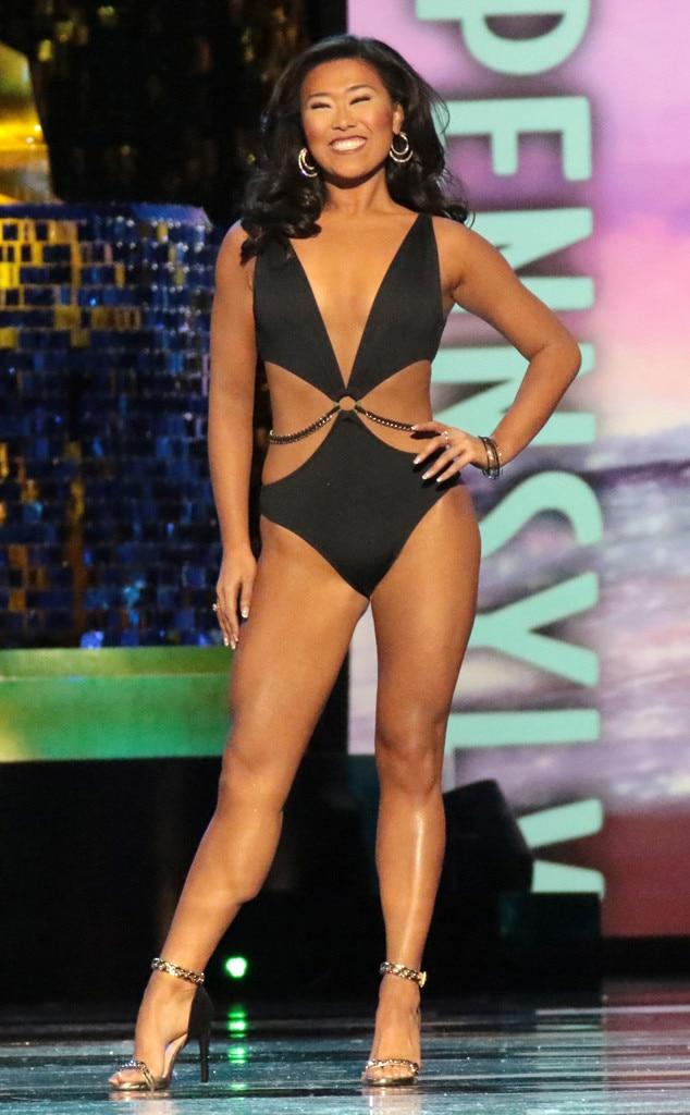 Miss America 2018, Swimsuit Challenge, Miss Pennsylvania Katie Schreckengast