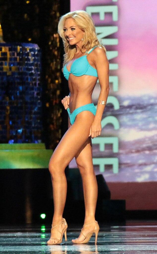 Miss America 2018, Swimsuit Challenge, Miss Tennessee Caty Davis